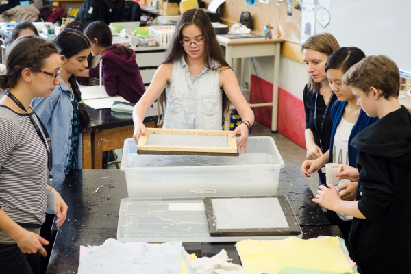 Paper Making Workshop For All Is For Yourself