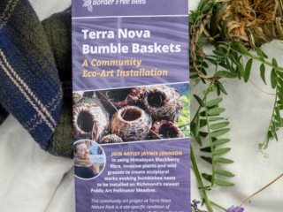 "Creating ""Bumble Baskets"" at Doors Open Richmond"